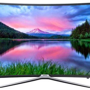تلویزیون ال ای دی هوشمند خمیده سامسونگ مدل ۴۹N6950 سایز ۴۹ اینچ