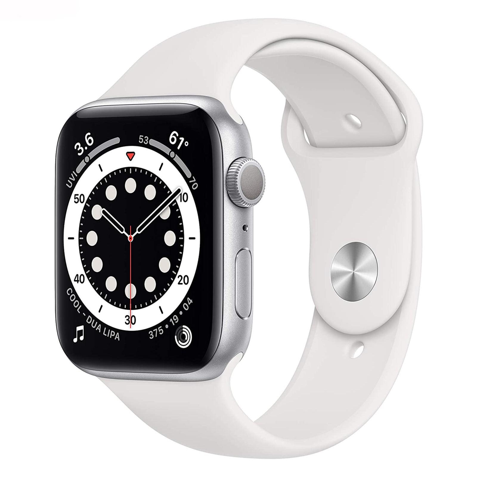 ساعت هوشمند اپل سری ۶ مدل Aluminum Case 44mm